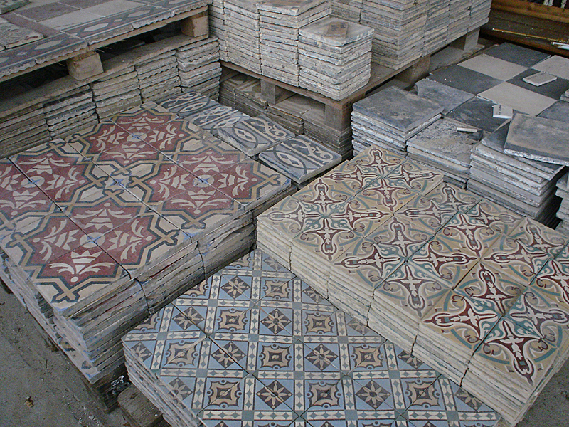 Jan van ijken oude bouwmaterialen b v eemnes pag sub3 patroontegels siertegels wandtegels - Deco keuken oud land ...